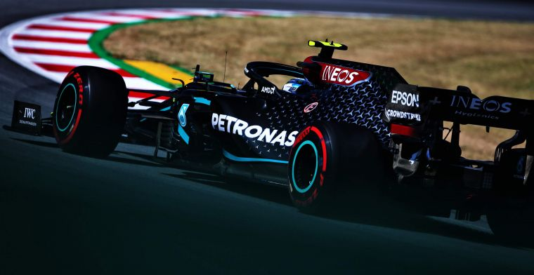 Full result FP2: Mercedes comfortably on top, Verstappen eight tenths behind