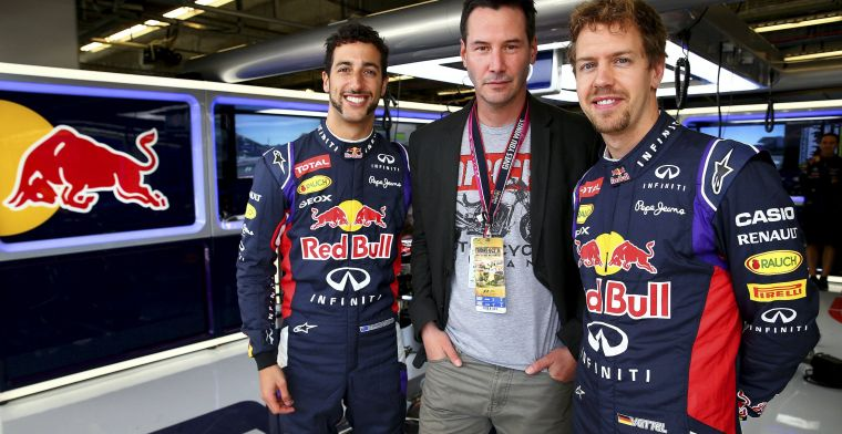 Ricciardo stands up for Vettel: ''He won't run away from trouble''