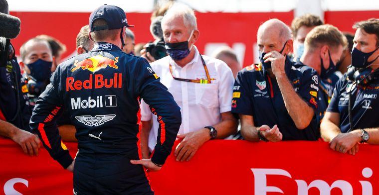 Marko geniet van Verstappen: ''Net alsof hij de hele race met DRS rijdt''
