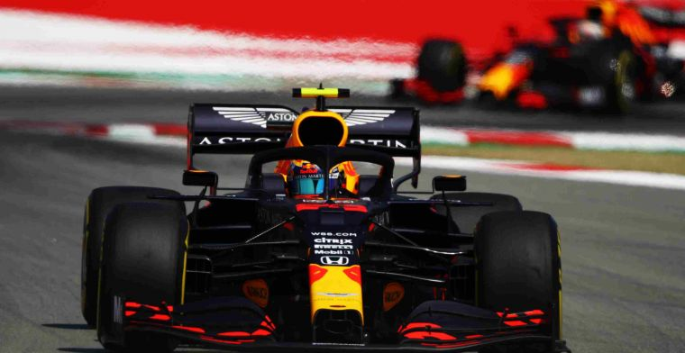 Red Bull drives with slightly modified front wing in Spain this weekend
