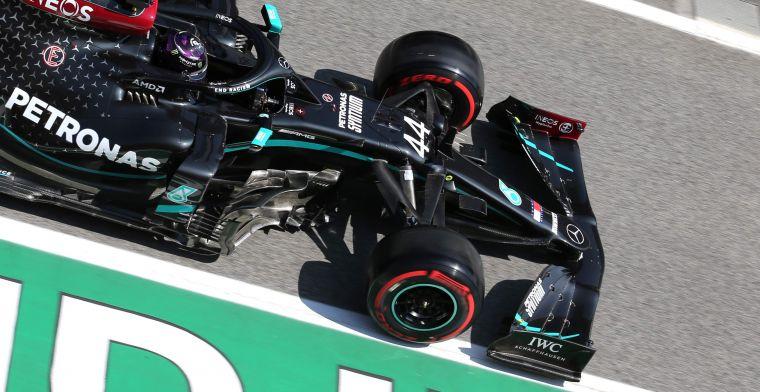 Hamilton: Verwacht dat zondag een spannend gevecht gaat worden met Red Bull