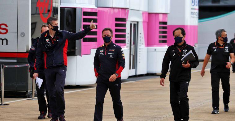 Honda vond verbetering na eerste vrije training voor RB16: Maar het werkte niet