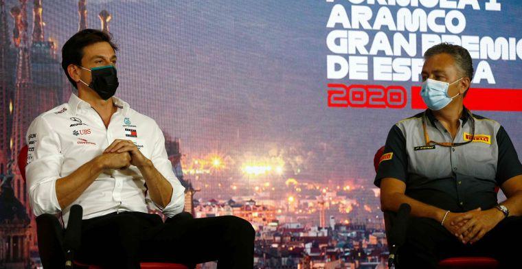 Pirelli verrast door verbod op 'party modus': We kwamen er achter door de teams