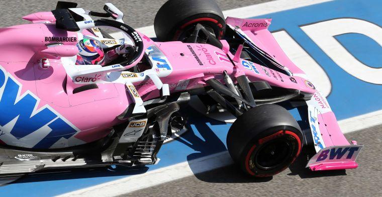 Perez: Hopen dat we Verstappen kunnen inhalen bij de start