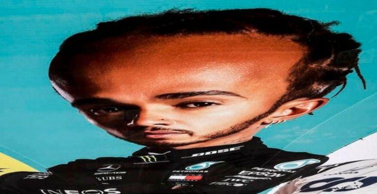Reacties op het internet: 'Verstappen maar 0,94 procent langzamer dan Hamilton'