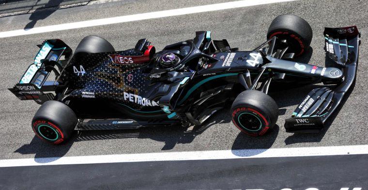 Hamilton: Belangrijk dat we sterk zijn in de race, want Red Bull is enorm snel