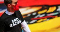 """Afbeelding: Vettel kan weer grappen maken na GP Spanje: """"Kan je je helikopter wegsturen?"""""""