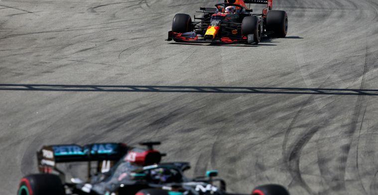 """Brundle: """"Opvallend dat Verstappen en Hamilton dat deden"""""""