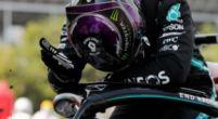 Afbeelding: Hamilton wint niet door wegligging Mercedes: ''Dat komt door zijn voetenwerk''
