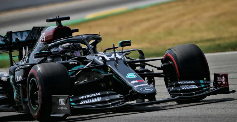 Hamilton kritisch op Pirelli: Ze hebben geen geweldig werk geleverd dit jaar