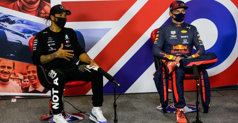 Villeneuve geeft advies aan Verstappen: Niet alleen op de baan Hamilton verslaan