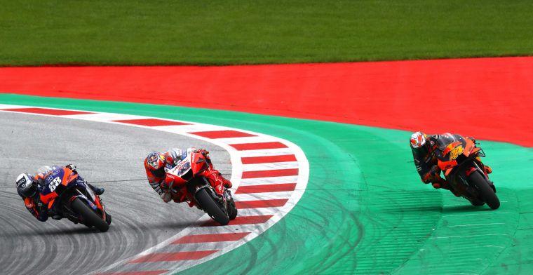 MotoGP zorgt opnieuw voor spannende race: Harde crash en spectaculaire slotronde
