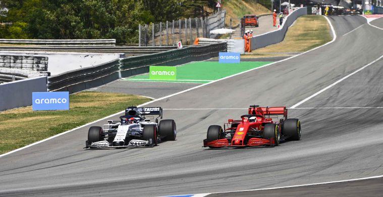 Ferrari strategist: That forces us to adjust the tactics lap by lap