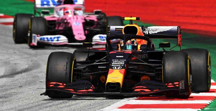 Brundle wijst naar Verstappen en Hamilton: Wat Perez deed, vind ik raar