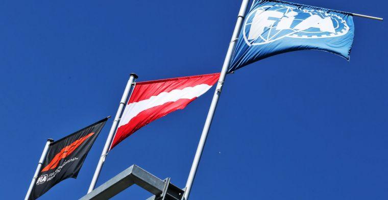 FIA brengt drie wijzigingen in de Formule 1 reglementen aan