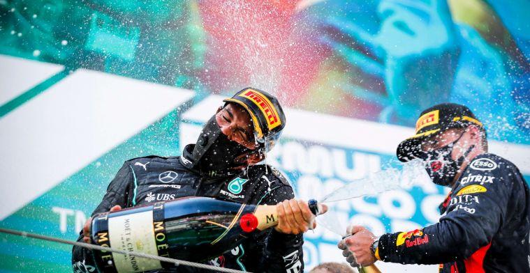 Van der Garde: ''In de regen is het een tweestrijd tussen Hamilton en Verstappen''