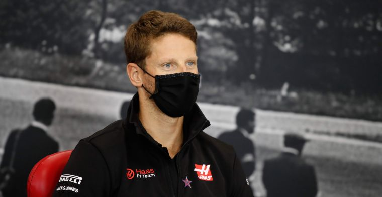 Grosjean: ''Not bad if you're in one round in two tenths of Vettel''