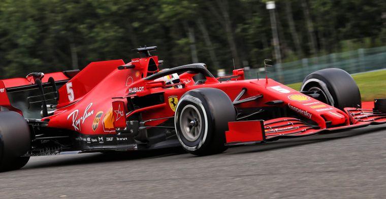 Brundle schrikt van Ferrari: ''Zou schokkend zijn als ze op die plek eindigen''