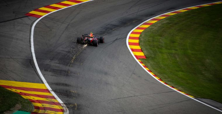 LIVE: The third free practice of the Belgian Grand Prix