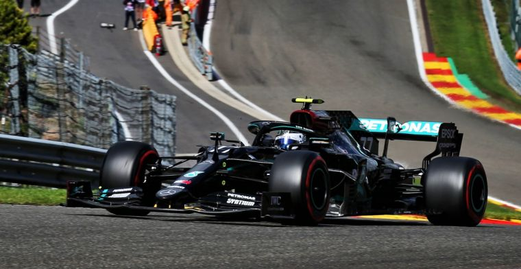 Bottas amazed about speed at Spa-Francorchamps every single year