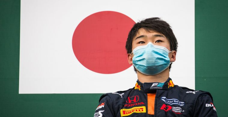 Red Bull junior Tsunoda applies for F1 seat with second victory
