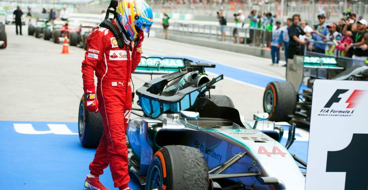 ''I would have liked to have heard Alonso about Ferrari instead of Vettel''