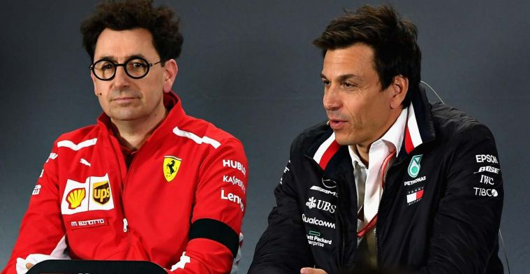 Binotto counters Wolff: There are people who like to talk about us