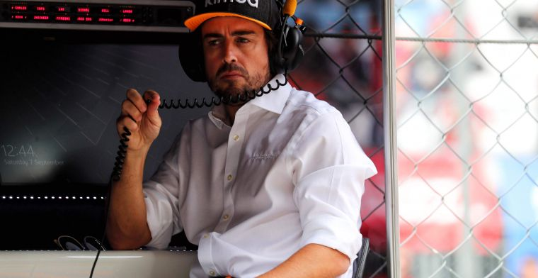 Alonso already visited Renault before: ''At work in Imola and Abu Dhabi''
