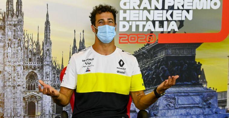 """Ricciardo ambitieus: """"Een podiumplaats is het doel"""""""