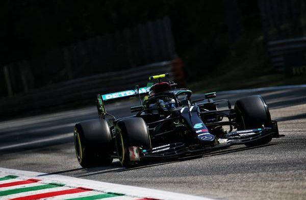 Valtteri Bottas fastest in FP1 at Monza as Max Verstappen causes red flag