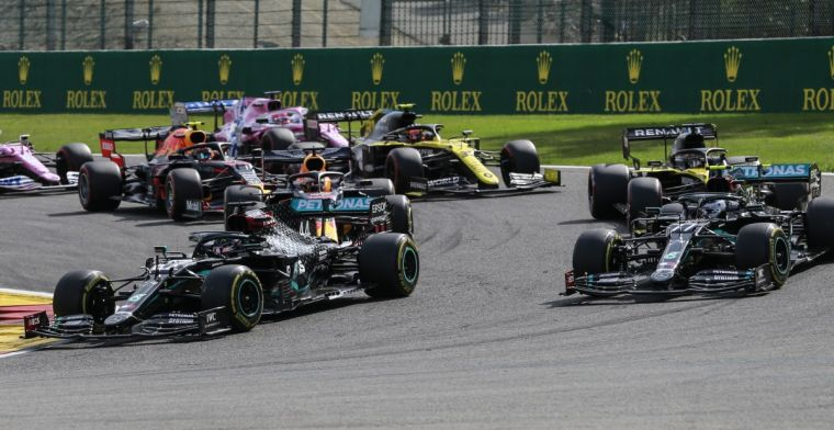 Stelling: Mercedes deelt verantwoordelijkheid voor gebrek aan spanning in de F1