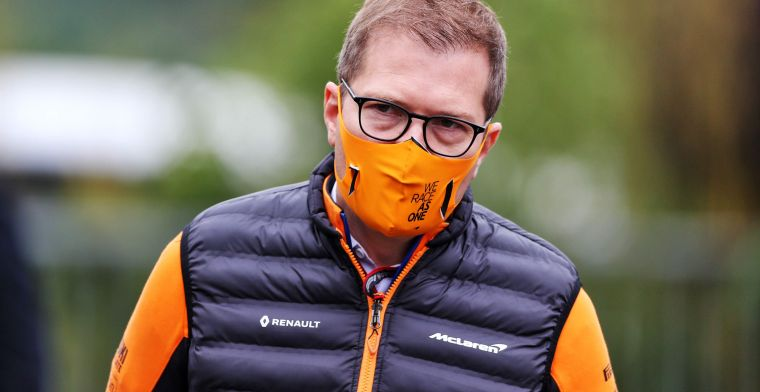 McLaren uncertain about third place: ''Racing Point is still the third team''