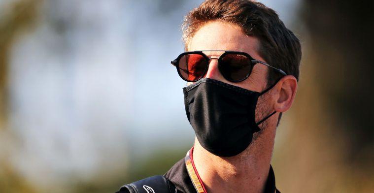 Grosjean about Vettel: I won't show you the emoji he sent me