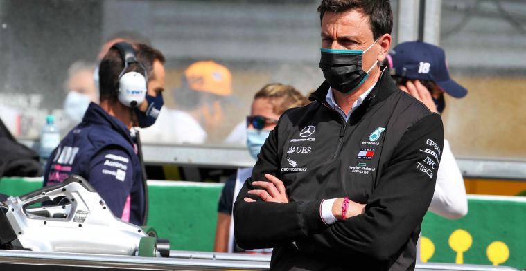 Wolff waves away rumours: I'm part of Mercedes