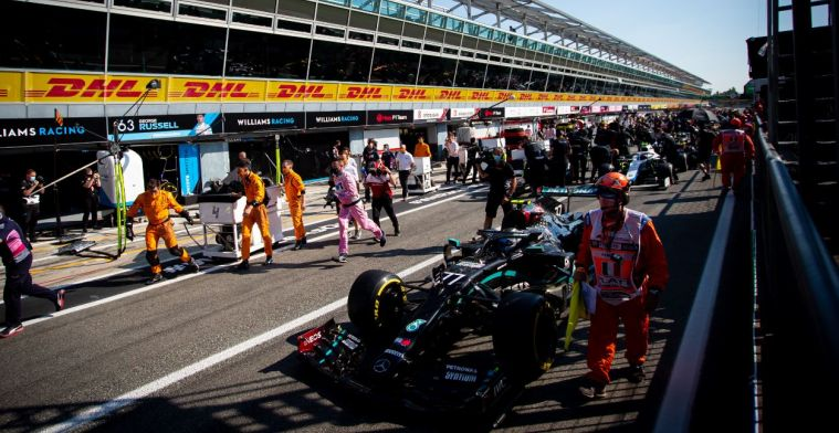 Brundle: All teams realised that the pit lane was closed, except...