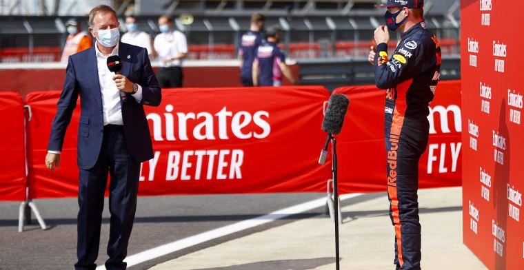 """Brundle zag het van kwaad tot erger worden voor Verstappen: """"Matige start"""""""