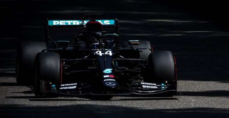 Mercedes explains why they had trouble overtaking at Monza