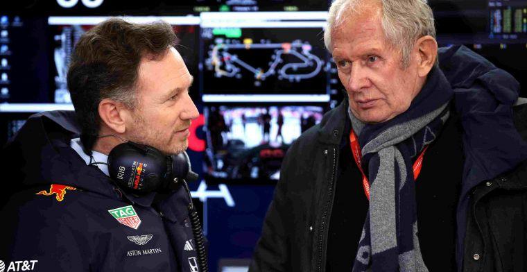 Red Bull: Iedereen die het opneemt tegen Verstappen redt het niet