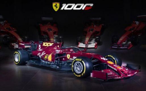 Get to know Ferrari's special livery up close!