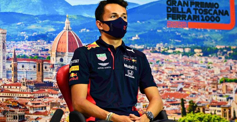 Albon: I don't feel any extra pressure to perform by Gasly's win.