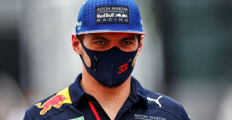 Verstappen haalt schouders op: Denk niet dat Perez veel langzamer zou zijn