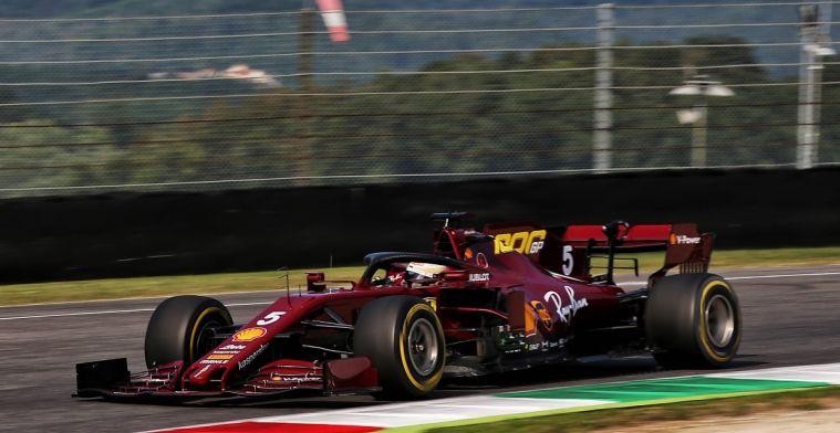 Problemen voor Vettel en Ferrari: Motor geeft de geest na VT2