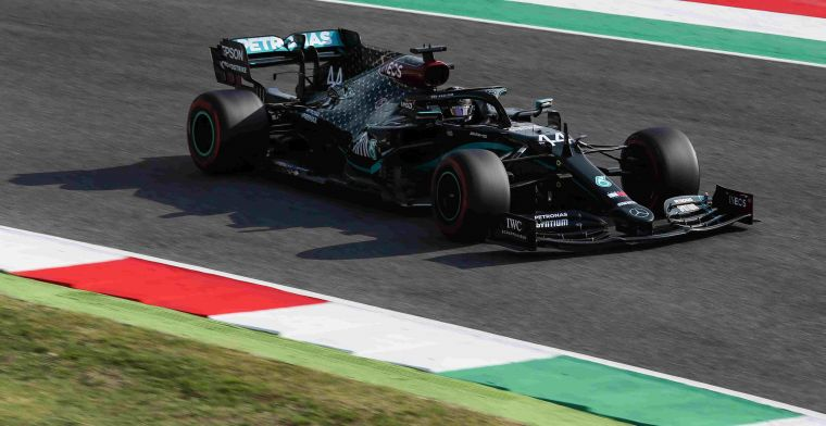 Summary Friday in Tuscany: Mercedes fast, but Verstappen follows