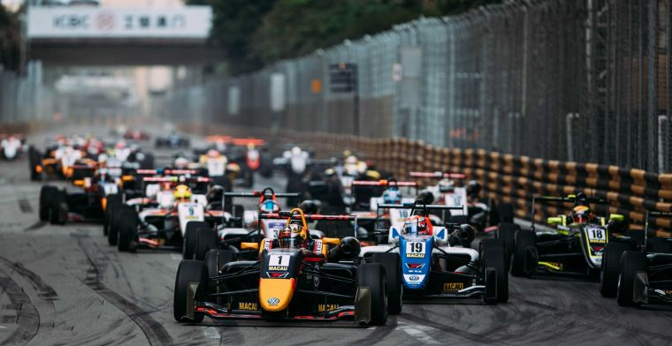 For the first time after 37 years no Formula 3 in Macao due to the coronavirus