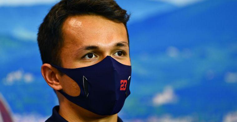 Marko sets target for Albon: Three tenths on Verstappen