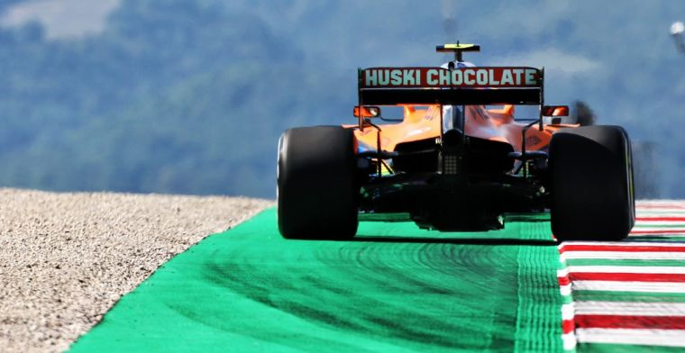 Norris still happy with gravel traps: It's more challenging