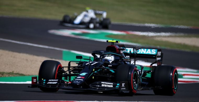Bottas is disappointed with the yellow flag: I could certainly have been faster