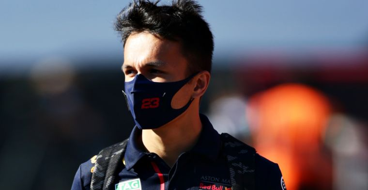 Albon: Once the pace is there, it's pretty simple