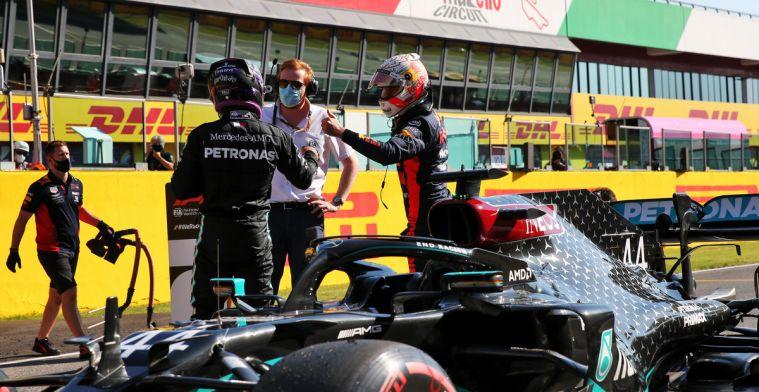 Uitslag kwalificatie GP Toscane: Hamilton toch het snelste, RBR op tweede startrij