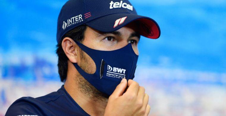 Stelling: Perez zou niet voor een achterhoede team moeten gaan rijden